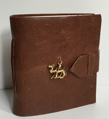 Camel Mini Journal (approx. 3.5″ x 3.25″)