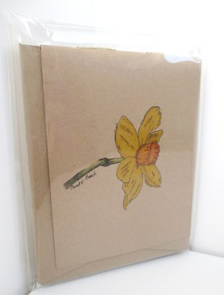 Daffodil Jotter Journal (set of 3 mini-journals)